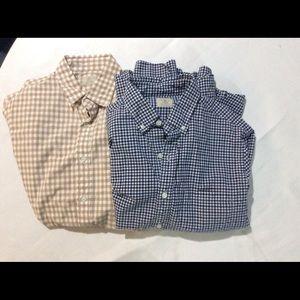 2 J Crew shirts